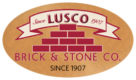logo-residential brick-architectural brick-masonry construction-natural stone-outdoor fireplaces- Lusco Brick & Stone
